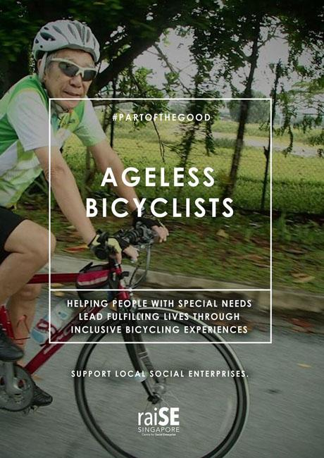 Ageless Bicyclist