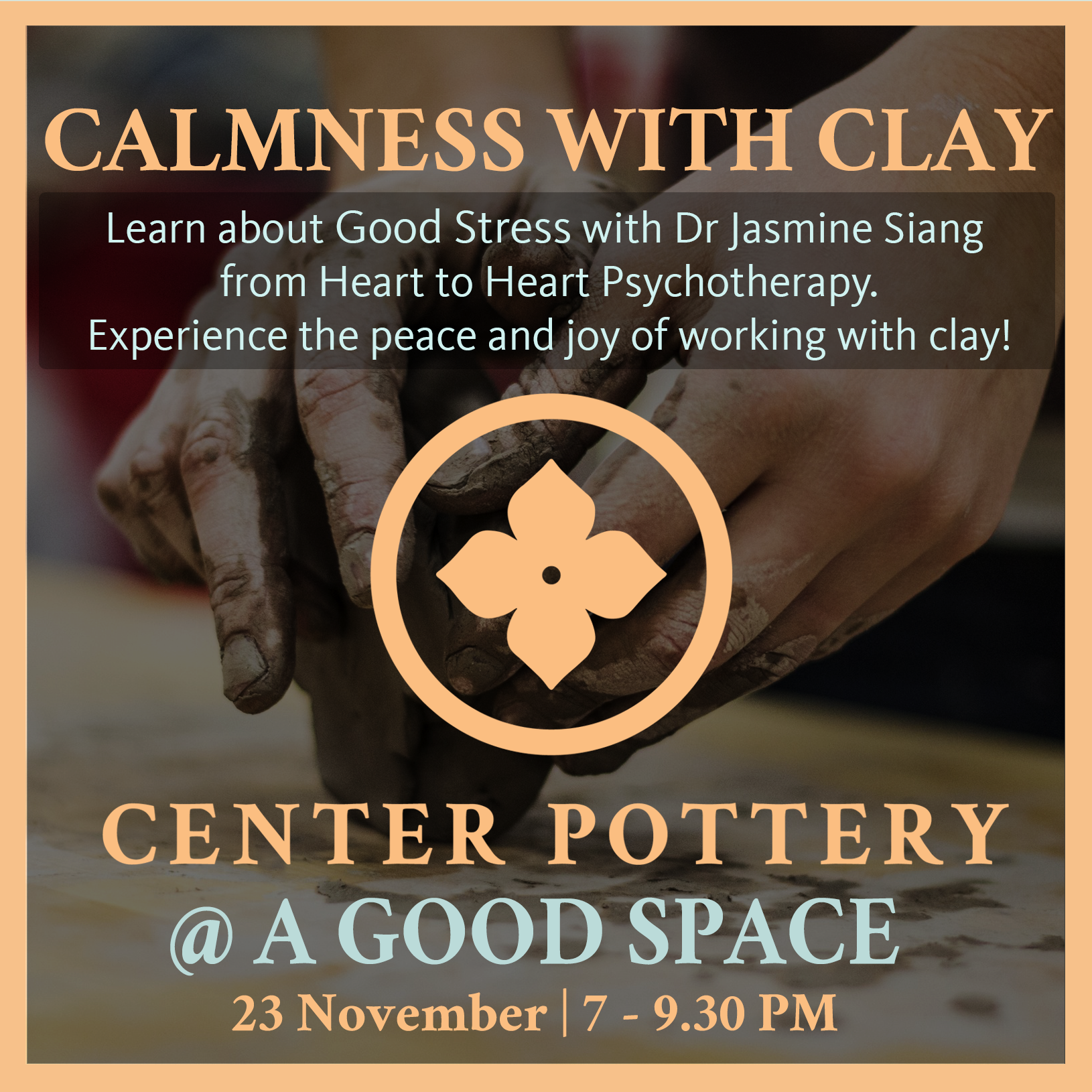 calmness-with-clay-poster_0_04919100_1509332880 Event - Calmness with Clay